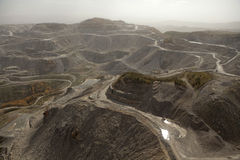 Appalachia de mine de charbon images stock