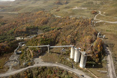 Appalachia de mine de charbon image libre de droits