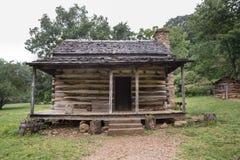 Appalachian beli kabina Obraz Royalty Free