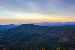 Appalachian bergen Stock Afbeelding