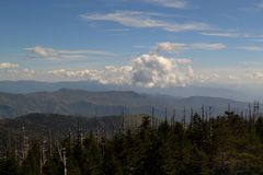 Appalachian góra Scene-20 zdjęcia stock