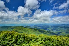 Appalachian góry obrazy royalty free