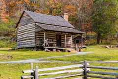 Appalachian Homestead Cabin royalty free stock photography