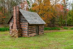 Appalachian Homestead Cabin royalty free stock photos