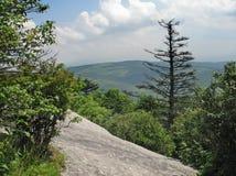 appalachian majestätisk bergsikt Royaltyfri Foto
