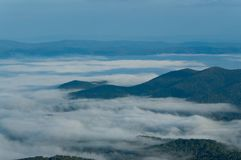 Appalachian Mountain Range Royalty Free Stock Photography
