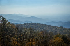 Appalachian Mountains in Autumn Stock Image