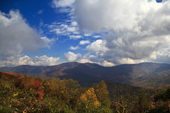 Appalachian Mountains in the Fall Stock Images