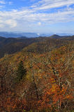 Appalachian Mountains in NC Stock Image