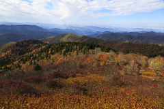 Appalachian Mountains in NC Stock Photography