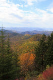Appalachian Mountains in NC Stock Photo