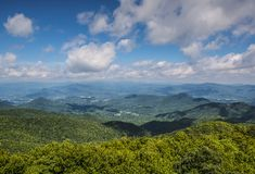 Appalachian Mountains Royalty Free Stock Photography