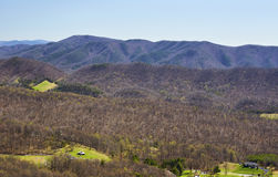 Appalachian Mountains in Virginia Stock Photos