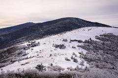 Appalachian Mountains in the winter 2 Royalty Free Stock Photography