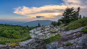Appalachian Mountans, Roan Mountain, Tennessee Royalty Free Stock Images
