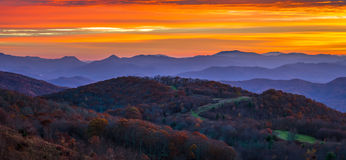 Appalachian Sunrise Royalty Free Stock Photo