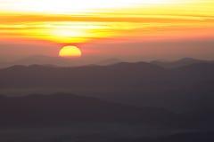 Appalachian Sunrise Stock Photography