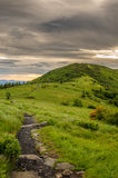 Appalachian Trail Ascending Jane Bald Royalty Free Stock Photo