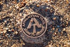 Free Appalachian Trail Marker Royalty Free Stock Photography - 102307277