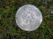 Appalachian Trail Marker Royalty Free Stock Photos