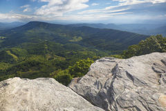 An Appalachian Trail Overlook Royalty Free Stock Images