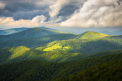 Appalachian Trail at Roan Mountain State Park stock photos