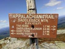 Appalachian trail stock image