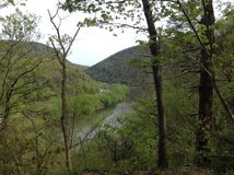 Delaware river royalty free stock image