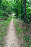 The Appalachian Trail in Virginia Stock Photography
