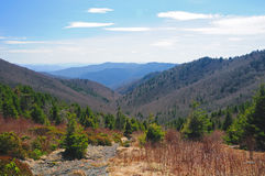 appalachian trailsikt Royaltyfri Fotografi