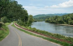 Appalachian transportu trasy Obrazy Stock