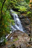 Appalachian Waterfall-3 stockfotos