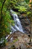 Appalachian Waterfall-3. Waterfall in the Appalachain Mountains in the early fall Stock Photos
