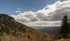 Appalachians zachodni Pólnocna Karolina obraz stock