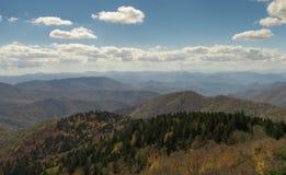 Appalachians zachodni Pólnocna Karolina fotografia royalty free