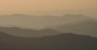 Appalachians zachodni Pólnocna Karolina zdjęcia royalty free
