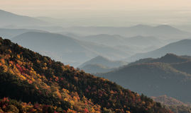 Appalachians zachodni Pólnocna Karolina obraz royalty free