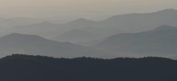 Appalachians zachodni Pólnocna Karolina fotografia stock