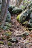 Appalachische Spur in blauen Ridge Mountains Lizenzfreie Stockfotos