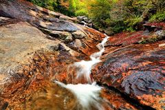 Appalachisches Wasser stockfotos
