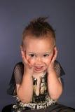 appalled se för pojke Fotografering för Bildbyråer
