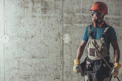 Appaltatore Job Concept fotografia stock libera da diritti
