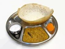 appam食物印地安人 免版税库存照片
