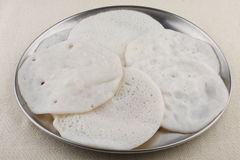Appam. Kllappam from Kerala cuisine Royalty Free Stock Image