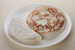 Appam,. Appam traditional breakfast of Kerala Stock Photo