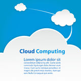 Appanni l'illustrazione astratta di vettore di schema eps10 della tecnologia di computazione Immagine Stock
