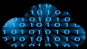 Appanni la concezione di calcolo, i punti collegati caotico lenti, la tecnologia della nuvola, illustrazione di stock