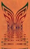 Apparaître d'ailes de guindineau Images libres de droits