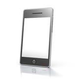 Apparaat van de het scherm het mobiele telefoon van de aanraking royalty-vrije illustratie
