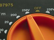 Apparaat van multimeter het Elektrische Metingen Stock Afbeelding